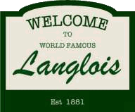 Welcome to World Famous Langlois Oregon