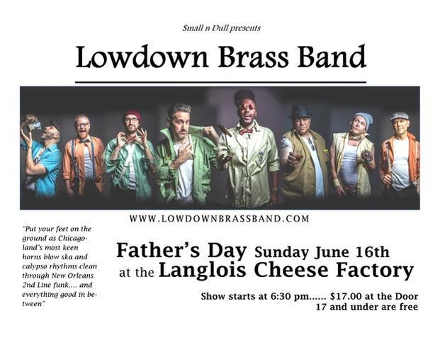 Lowdown Brass Band | Welcome to World Famous Langlois Oregon