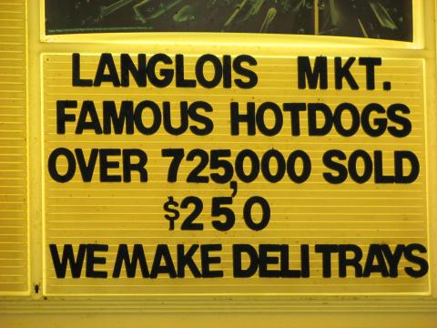 Hot dog count