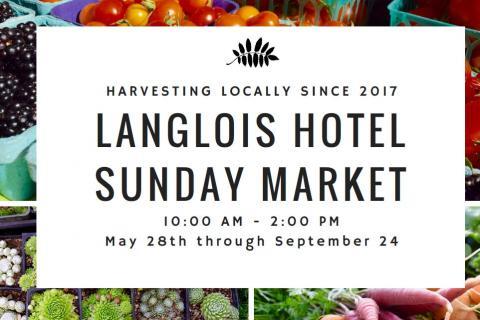 Langlois Hotel Sunday Market